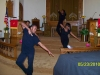 "The Liturgical Dance Ministry ""praisent"" on Pastors' Appreciation Day."